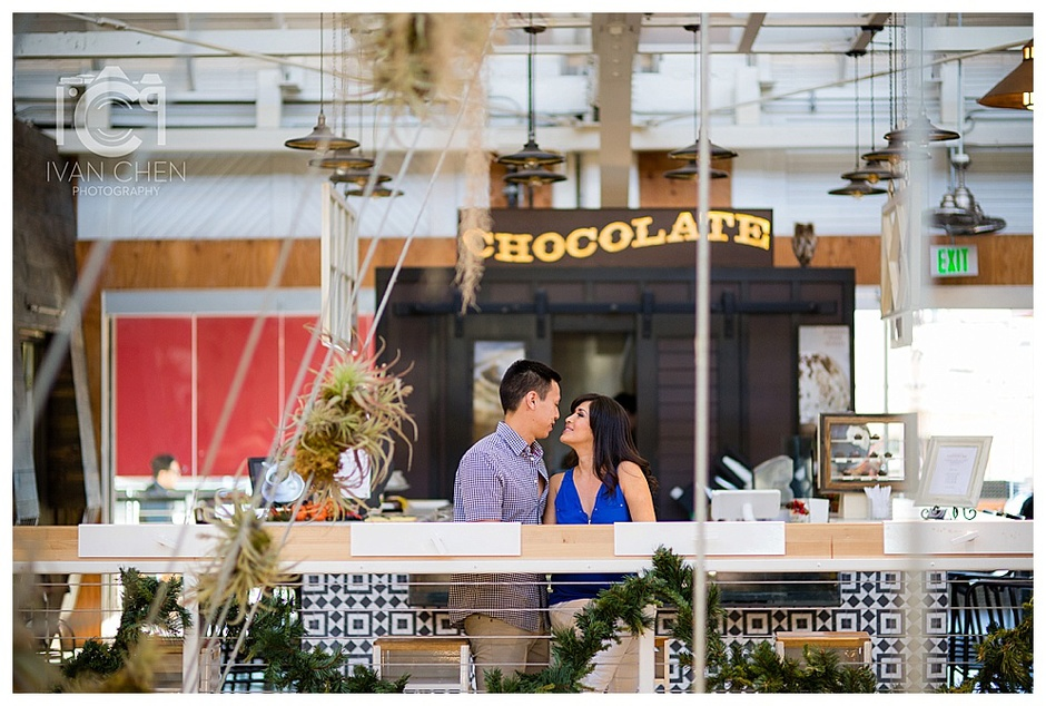 PINIMAGE Corona Del Mar Engagement Anaheim Packing House Engagement Orange  County Photographer Ivan Chen Photography Cynthia And